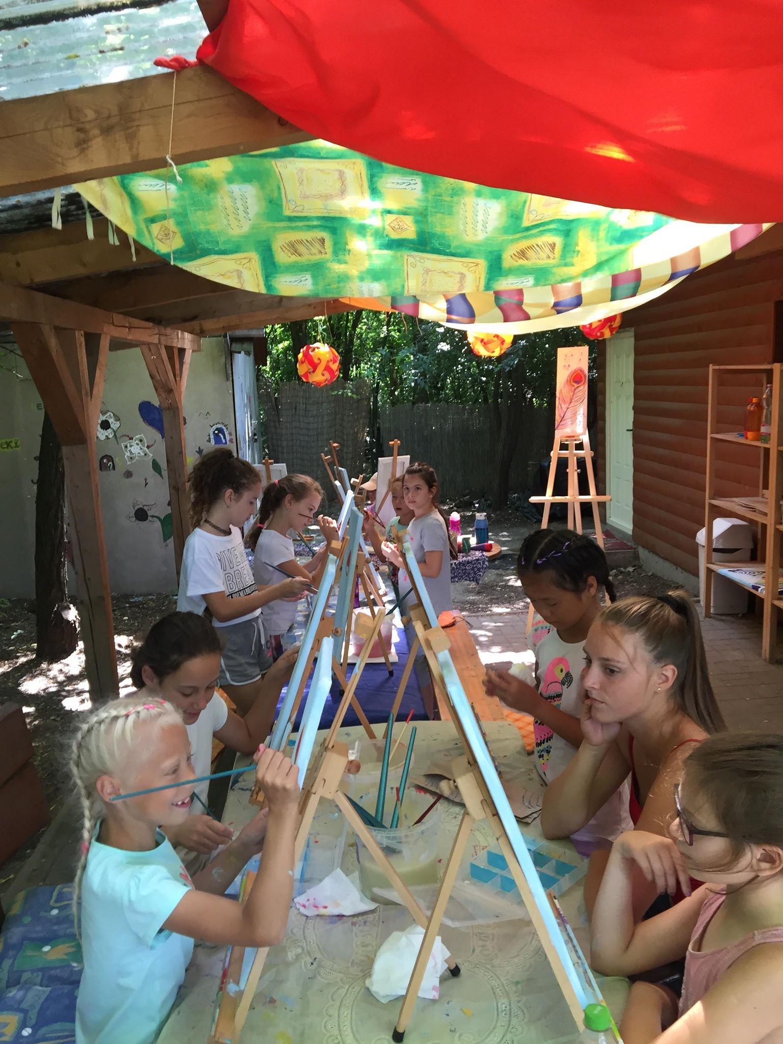 Angol Festő Tábor