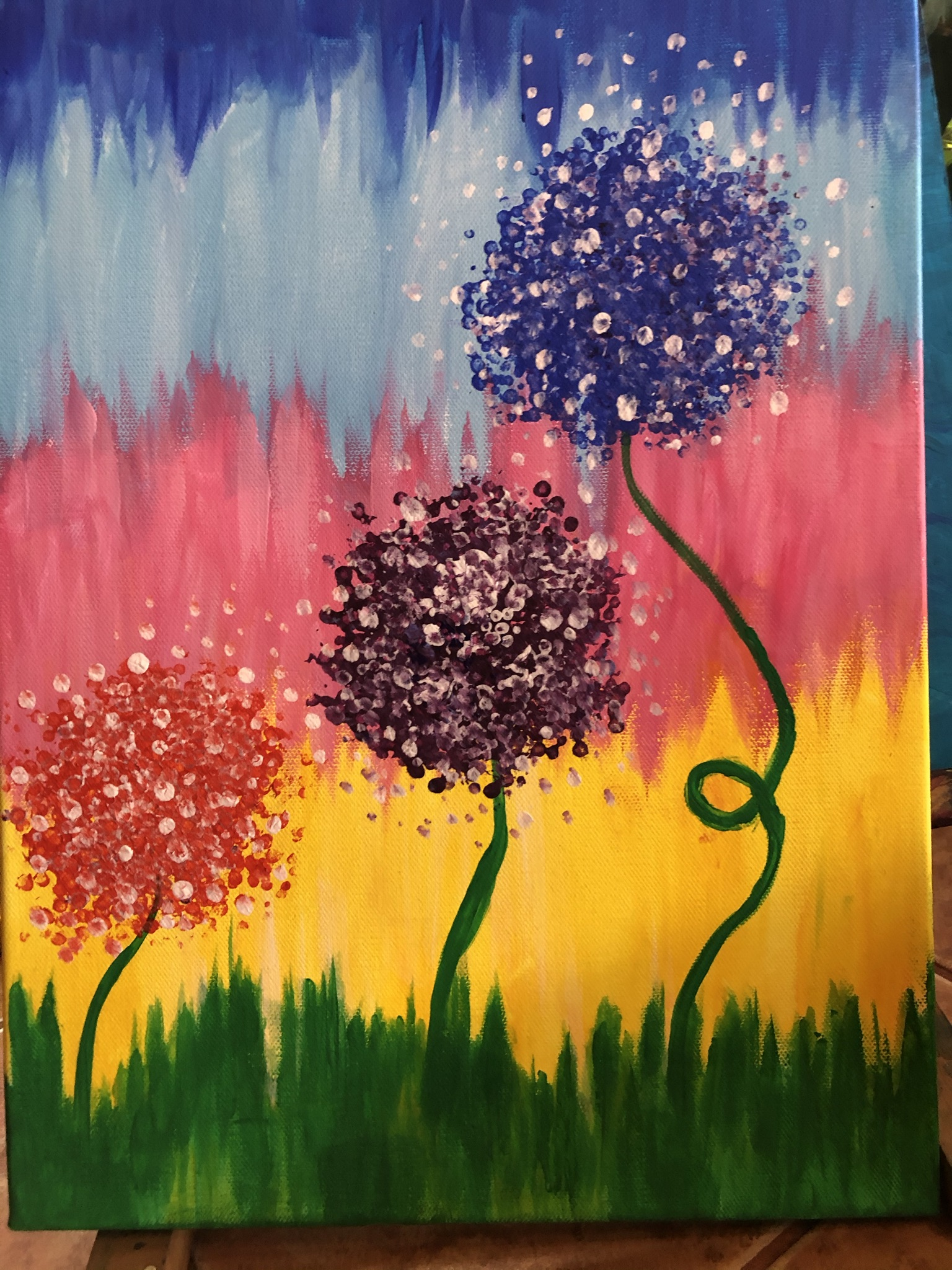 Első festmény